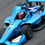 Rookie Rosenqvist leads Ganassi sweep of IGP front row