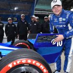 Rookie Rosenqvist earns first pole, Dixon second