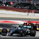 "Bottas: ""No pace difference"" between me and Hamilton in race 