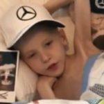 F1 car flown to home of terminally ill boy who inspired Hamilton's Spanish GP win