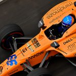 Alonso's mood brightens with return to Indy 500 practice