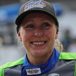 This time, Mann's tears are joyful after Indy 500 qualifying