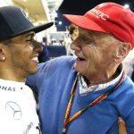 Niki Lauda: World champion Lewis Hamilton pays tribute to 'bright light in my life'