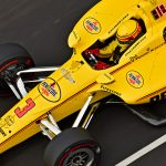 Castroneves quietly puts himself in place to make Indy 500 history