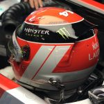 Hamilton joins Vettel in wearing Lauda's helmet design in Monaco | 2019 Monaco Grand Prix