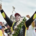 Pagenaud basks in milk, glow of perfect May in Indy