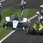 Battle of wills leads to Bourdais-Rahal crash