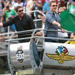 Bale, Damon highlight star-studded Indy 500 red carpet