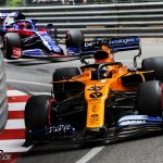 "Kvyat was ""one car length away"" from beating Sainz 