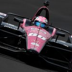Indy 500 proves perfect place for Harvey to 'Drive Pink'