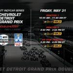 Chevrolet Detroit GP practice livestream