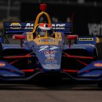 Rossi repeats NTT P1 Award effort in Detroit qualifying