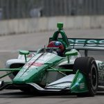 Fast learner Herta qualifies fifth for first Detroit Dual