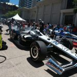 Indy cars light up Fort Worth with pit stop challenge