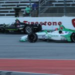 Newgarden wins Texas shootout over Rossi