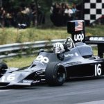 Formula One: Statue of Tom Pryce who died in 1977 Grand Prix