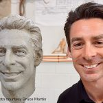Shock and Awe: Pagenaud amazed by clay sculpture of face for Borg-Warner Trophy