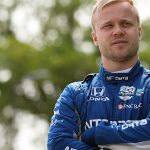 Rosenqvist comfortable in Toronto return; Dixon fast early