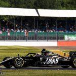 Grosjean says old-spec car feels better despite crash in pits | 2019 British Grand Prix