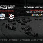Watch today's Iowa 300 at Iowa Speedway
