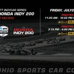 Watch NTT IndyCar Series practice from Mid-Ohio