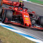 Leclerc keeps Ferrari ahead as Mercedes struggle   2019 German Grand Prix third practice