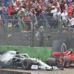 Max Verstappen wins German Grand Prix as Lewis Hamilton crashes