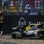 "Hulkenberg: Crashing out of fourth at home ""hurts"" | 2019 German Grand Prix"