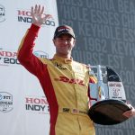 With speed in hand, Hunter-Reay happy with Mid-Ohio podium