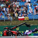 Gasly quickest as Albon crashes in wet second practice | 2019 Hungarian Grand Prix second practice