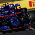 "Kvyat: Albon had a ""much better strategy""   2019 Hungarian Grand Prix"