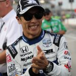 Sato wins Bommarito Automotive Group 500