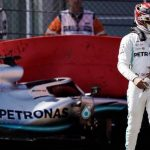 Lewis Hamilton: Mercedes driver suffers heavy crash in final practice