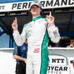 Herta on pole, title contenders struggle in Portland qualifyi...