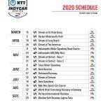 INDYCAR 2020: Richmond part of 17-race schedule