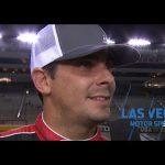 Stewart Friesen: 'We had a battle of a day today' | NASCAR Gander Trucks at Las Vegas