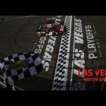 Tyler Reddick bests Christopher Bell with fuel strategy play | NASCAR Xfinity Series at Las Vegas