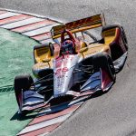 Title Tactics: Hunter-Reay, Rossi work together in test