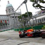 Singapore GP: Max Verstappen top in Singapore as Valtteri Bottas crashes