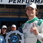 Title Qualifying: Herta wins pole, four contenders in top six