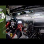 Onboard howling V12 Aston Martin DBR9 at Monza