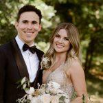 Wickens, Woods share 'creepy, geeky' wedding photos