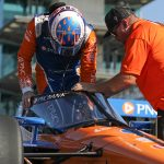 Dixon, Power say Aeroscreen not inhibiting