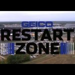 Every insanely close restart from Dover: GEICO Restart Zone