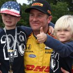 Fast Father: Hunter-Reay says sons 'are the priority' in life