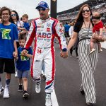 Fast Father: Kanaan believes each child deserves own time