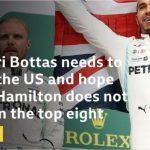 United States GP: Valtteri Bottas on pole position