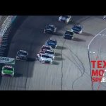 Watch Cole Custer make a insane save on a wild Texas restart | NASCAR at Texas Motor Speedway