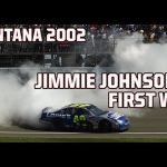 NASCAR Full Race: Jimmie Johnson's first Cup Series win | Auto Club Speedway 2002