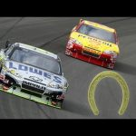 The story of Jimmie, Harvick and the 'golden horseshoe' | Auto Club Speedway 2010